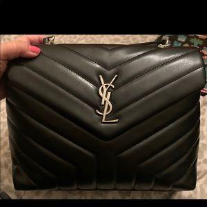 YSL medium top handle LouLou bag